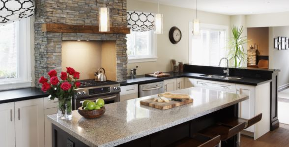 Kitchen - Modern rustic style Pickering Ontario
