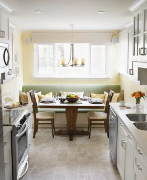 Custom Kitchen Banquette