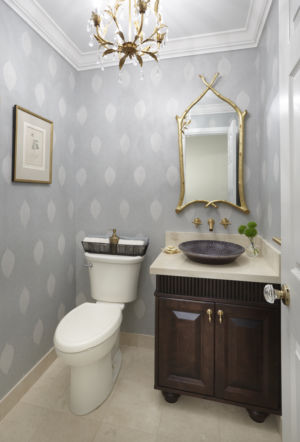 A Botanical Powder room