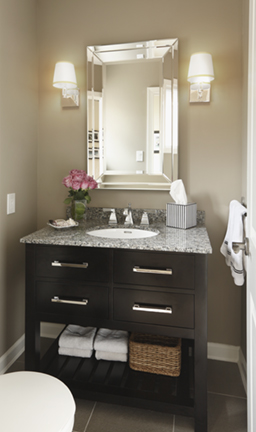 Timeless Powder room