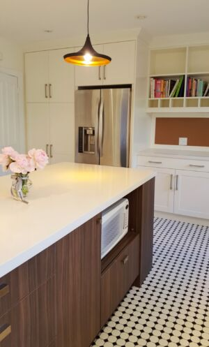 Retro Kitchen Island Refined By Design
