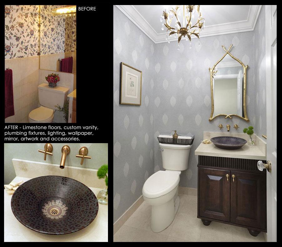 Before After Interior Design Gallery Toronto Ontario