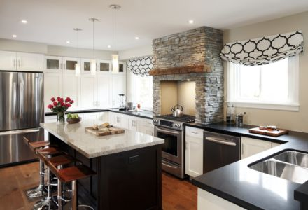 Kitchen- Modern rustic full view