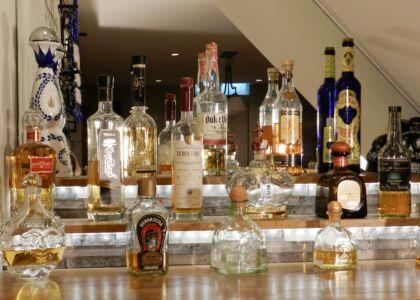 Tequila Bar Display shelves