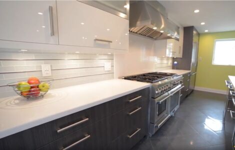 Galley Kitchen - Contemporary
