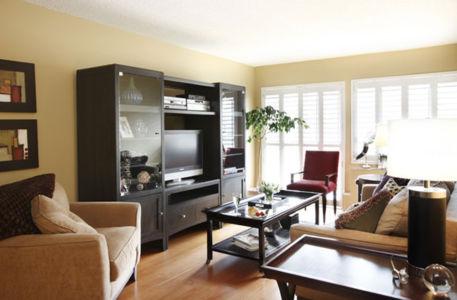 Condominium Living room AV unit